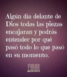 Que no sea tarde Love Words, Beautiful Words, Bible Quotes, Me Quotes, God Loves You, Spanish Quotes, Quotes About God, Dear God, God Is Good