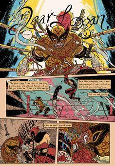 Dear Logan by Rafael Grampa from Marvel: Strange Tales II
