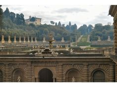 go back to Florence and see the Boboli Gardens
