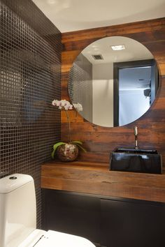 Fotos de Banheiros Moderno: Cobertura Barra