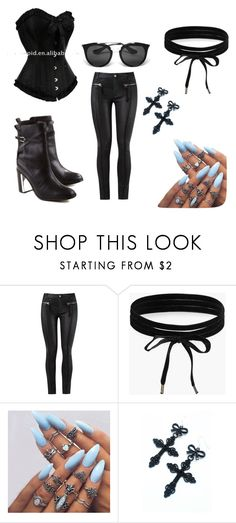 """""""look"""" by gikaulitz on Polyvore featuring Boohoo and Prada"""