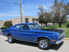 1972 Plymouth Duster - 340 Maintenance of old vehicles: the material for new cogs/casters/gears/pads could be cast polyamide which I (Cast polyamide) can produce Old Muscle Cars, American Muscle Cars, My Dream Car, Dream Cars, Plymouth Valiant, Plymouth Duster, Hot Rides, Dusters, Hot Cars