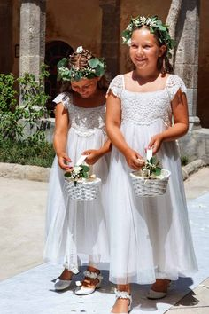 BRYLLUP I SORRENTO - Bryllupsglede, bridesmaids, flowergirls Italian Weddings, Girls Dresses, Flower Girl Dresses, Sorrento, Bridesmaids, Wedding Dresses, Flowers, Fashion, Dresses Of Girls
