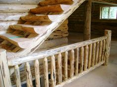 Log Stairways