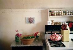 our tiny kitchen by nataliecreates, via Flickr