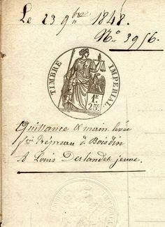 Quittance et Main-levée de 1848