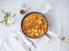 Frittata mit Chorizo und Frühkartoffeln | Rezept mit Video | Kitchen Stories