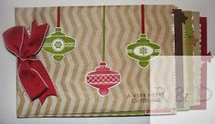 Rachel's Stamping Place: It's Back! 12 Weeks of Christmas. Tutorials every week to make gifts and home décor for the upcoming holiday season. This is a paper bag scrapbook.