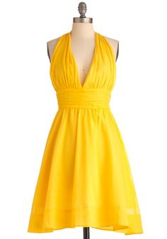Taken a Sunshine to You Dress on ModCloth.  I so need this with my bright pumps and a wide brim hat :)