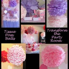 How to Make Tissue Pom Pom Balls