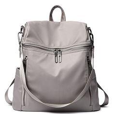 Women Backpack Purse Lightweight Fashion Nylon Ladies Han... https   www ea19da71521