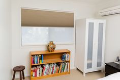 Buy quality custom-made timber, roller, roman, honeycomb and aluminium blinds delivered anywhere in Australia within 14 days. Day Night Blinds, Honeycomb Blinds, Aluminum Blinds, Blinds Online, Cellular Shades, Custom Made, Bookcase, Shelves, Home Decor