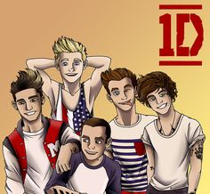 One direction cartoon fan art: one direction by on deviantart One Direction Collage, One Direction Drawings, One Direction Cartoons, One Direction Quotes, One Direction Wallpaper, One Direction Imagines, Harry Styles Imagines, One Direction Pictures, I Love One Direction
