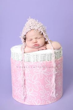 NEW Shabby Chic Pixie Hat accented with pearl by EternallyHooked, $28.00