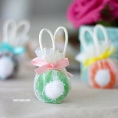 Felt cadbury bunny easter craft idea perfect for easter baskets giant christmas ornaments negle Image collections