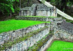 HONDURAS-COPAN Honduras, Garden Bridge, Outdoor Structures, Mansions, House Styles, Places, Google, Manor Houses, Villas
