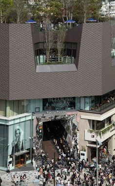 Tokyu Plaza Omotesando Harajuku, Tokyo, 2012 by Nap Architecture