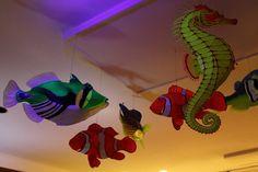 Glow in the dark cardboard fish by Strepto, via Flickr