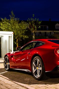 F12 Berlinetta // Teddy Legris Who's been taking pictures of my car at night!?!? ;-P