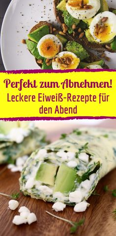 Delicious protein recipes for the evening to lose weight - Eiweiß Rezepte Low Carb - To eat healthy food Low Carb Protein, Healthy Protein, Protein Foods, Menu Dieta Paleo, Low Carb Recipes, Healthy Recipes, Protein Recipes, Eating Plans, Food And Drink