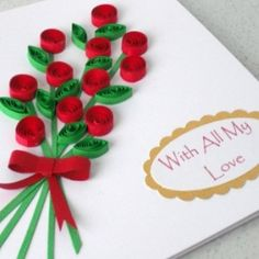 homemade greeting cards | Homemade Valentine Card Ideas - How To Make Home Made Valentines Day ...                                                                                                                                                                                 Más