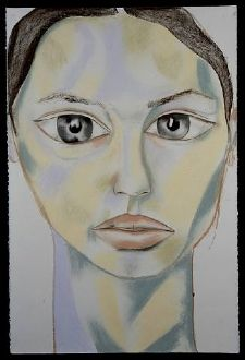Francesco Clemente (b 1952) is an Italian contemporary artist. His work is stylistically varied, inclusive, erotic and nomadic. It embraces diverse mediums & diverse cultures as well, aiming at finding wholeness through fragmentation & witnessing the survival of contemplation and pleasure in our mechanical age. Clemente's work is rooted in political utopia and expresses an anti materialistic stance. In the 1970s he moved to drawing and anticipated the return to painting of the 1980s.