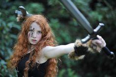 Celtic Warrior Woman on We Heart It.