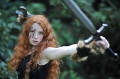 Scottish Warrior Woman