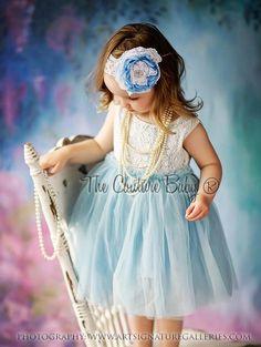Tiffany Blue Lace Dress