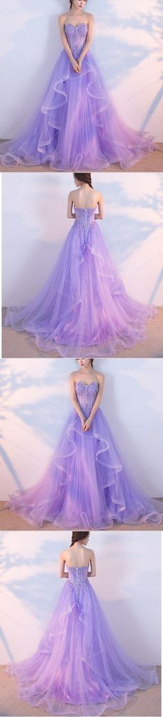 Elegant Prom Dress,Long Prom Dresses,Sweetheart Prom Dresses,Lilac Evening Dress, Tulle Prom Gowns,Formal Women Dress G149#prom #promdress #promdresses #longpromdress #promgowns #promgown #2018style #newfashion #newstyles #2018newprom #eveninggown#sweetheartpromdress#tullepromgown#lilaceveningdress