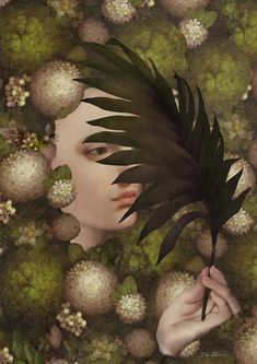 Camouflage-Daria Petrilli Surrealism Painting, Magic Art, Italian Artist, Art For Art Sake, Unique Art, Illustration Art, Illustrations, Savage, Camouflage
