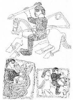 Male and female clothing from phaleras, Letnica treasure