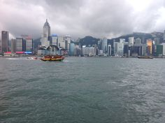 Hong Kong skyline from Avenue of the Stars