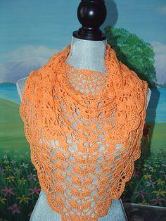 Morpho Shawlette - Free Crochet Pattern
