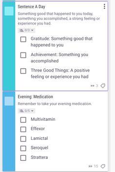Habitica Use Spotlight - Mental Health - Great ideas here!