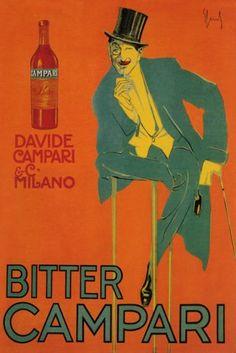 Campari 1921. by Enrico Sacchetti