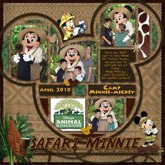 Safari Minnie layout