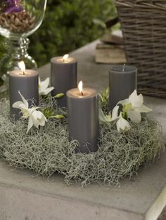 Advent wreath candles  (12)