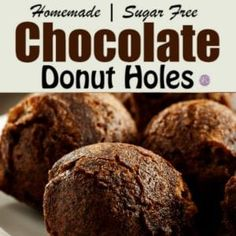 An easy and delicious Sugar Free Copycat Nutella Recipe Sugar Free Donuts, Sugar Free Nutella, Sugar Free Deserts, Sugar Free Baking, Sugar Free Treats, Sugar Free Chocolate, Sugar Free Recipes, Low Carb Doughnuts, Low Carb Donut