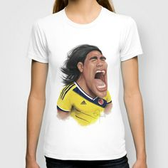 #Falcao - Colombia T-shirt by Sant Toscanni - $22.00