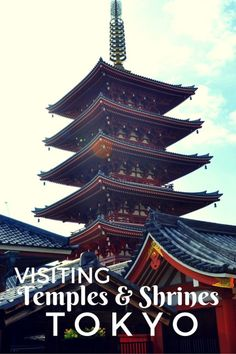 Guide and tips for visiting Temples and Shrines in Tokyo, Japan with kids