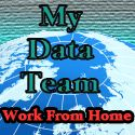 Just got paid!: Work at Home My Data Team Global Data Entry & Trad.