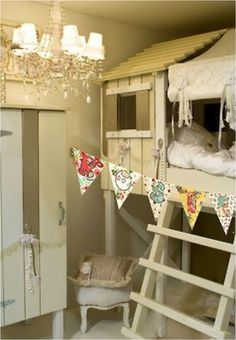 Lovely bunk bed!