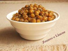 CECI SNACK   ricetta sfiziosa --1 scatola di ceci -15 g di mandorle senza pelle -origano -paprica -cipolla disidratata (o aglio in polvere) -pepe nero -olio extra vergine di oliva -sale