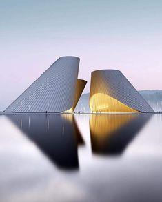 Concept Designed by Architecture Images, Concept Architecture, Conception, Building Design, Opera House, Temple, Roman, Buildings, Tower