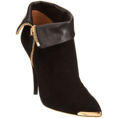 Tabitha Simmons Ester - Black size 7.5 (€1.130) ❤ liked on Polyvore featuring shoes, boots, ankle booties, women, black leather bootie, black leather booties, black ankle bootie, black ankle boots and ankle boots