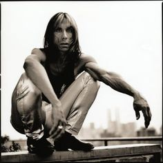 Iggy Pop by Anton Corbijn (1995).