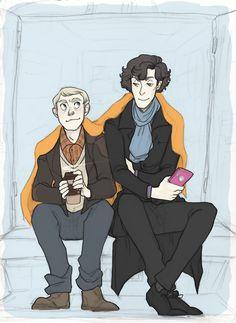 Sherlock fan art by weaslee