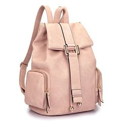 New Trending Backpacks: Dasein Faux Leather Convertible Drawstring Fashion Backpack Purse with Side Pockets - Pink. Dasein Faux Leather Convertible Drawstring Fashion Backpack Purse with Side Pockets – Pink  Special Offer: $36.99  111 Reviews *Please note that all sizes are manually measured.The margin of error is 1 inch. Thanks! *Little leather smell is normal. Open it and put it in a...
