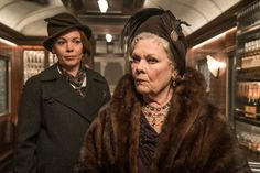 Judi Dench and Olivia Colman in Murder on the Orient Express (6)